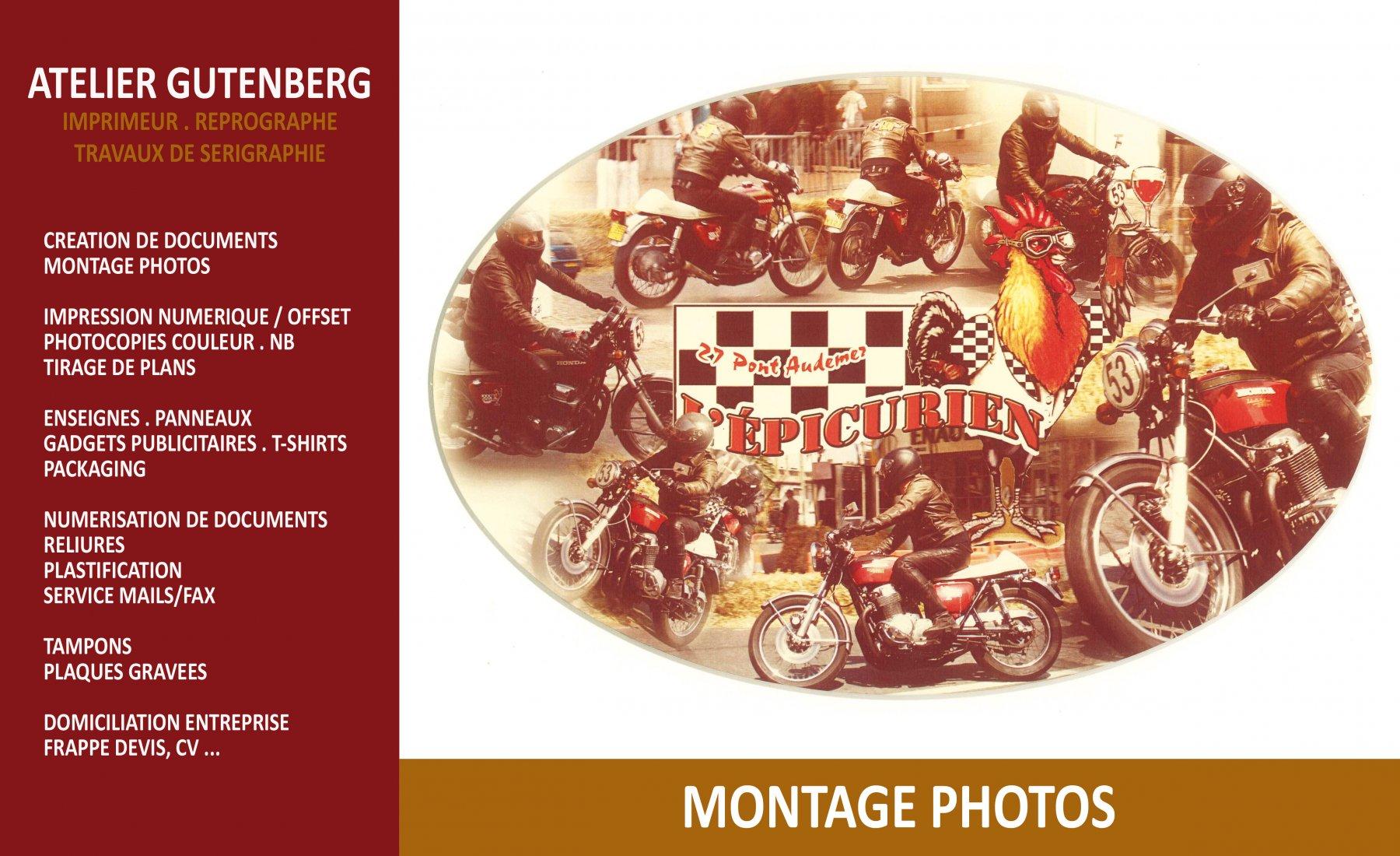 atelier gutenberg montage photo et impression numérique couleur sur couché